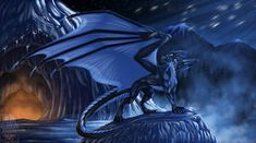 Comish - Arctic Blast by TwilightSaint on DeviantArt Lightning Dragon, Ride The Lightning, Magical Creatures, Fantasy Creatures, Arctic Blast, Greek Mythology Art, Illustrator, Medieval, Cool Dragons