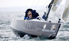 Having battled the elements, exhaustion and the severe limitations of her own body, Hilary Lister, 37, sailed into Dover and the record books today as the first female quadriplegic to sail solo around Britain.  The Oxford-educated biochemist, who suffers from a rare, progressive neurological disorder that has left her paralysed from the neck down, completed the final leg of a marathon voyage undertaken in a series of 40 day-long sails.