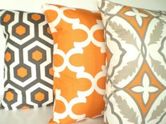 Throw Pillows Decorative Pillows Accent by fabricjunkie1640, $51.00