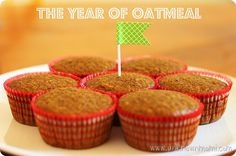 Mexican Chocolate Oatmeal Muffins Recipe