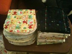 What more can I say...: Burp Cloths Galore