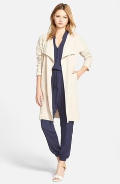cupcakes+and+cashmere+'Claremont'+Twill+Coat+available+at+#Nordstrom