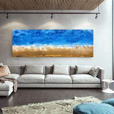 Original Abstract Painting Modern Canvas Wall Art Large Wall image 0