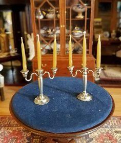 Guglielmo Cini - sterling silver candleabras