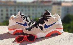 """Air Force 180 """"Ultramarine"""" customized Jordans Sneakers, Air Max Sneakers, Air Jordans, Nike Air Force, Nike Air Max, Shoes, Fashion, Moda, Zapatos"""
