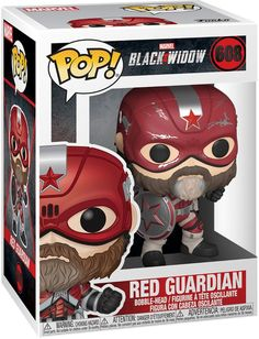 Marvel: Black Widow Red Guardian Multi at Best Buy. Find low everyday prices and buy online for delivery or in-store pick-up. Ms Marvel, Funko Pop Marvel, Marvel Pop Vinyl, Black Widow Marvel, Funko Pop Dolls, Funko Pop Figures, Pop Vinyl Figures, Funko Toys, Film Black