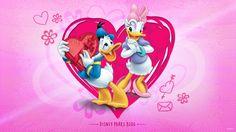 Walt Disney World or bust! Disney Couples, Disney Fun, Walt Disney, Image Mickey, Donald And Daisy Duck, Disney Valentines, Disney Parks Blog, Valentine Images, Disney Background