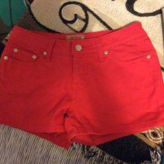 Spotted while shopping on Poshmark: Red shorts! #poshmark #fashion #shopping #style #No Boundaries #Pants