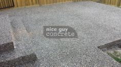 Exposed Aggregate, A Good Man, Concrete, Guy, Nice