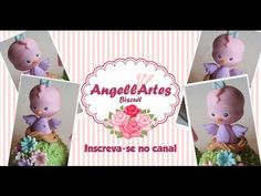 Passarinho Topinho Biscuit - AngellArtes - YouTube