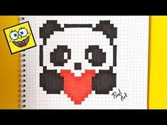 Handmade Pixel Art - How To Draw Rainbow Diamond #pixelart - YouTube