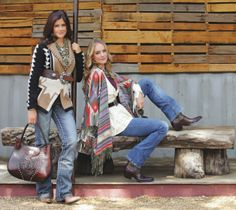 C&I's Fall Fashion Town & Country. -- I'm digging the tan/black sweater Cowgirl Chic, Western Chic, Cowgirl Style, Cowgirl Hats, Gypsy Cowgirl, Country Western Outfits, Country Girl Style, My Style, Cowgirl Outfits