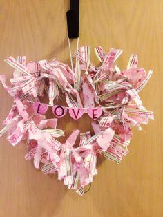 Valentine ❤wreath!!!