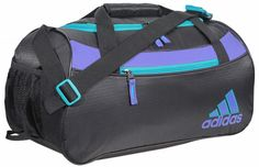 adidas Squad II Duffel - Black/Power Purple/Vivid