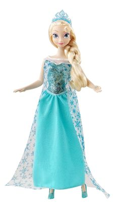 Frozen Elsa Anna Action Set Crown Magic Wand Toy Princess Doll Girl Toy Figures Superior Materials Action & Toy Figures