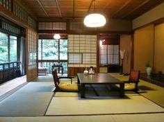 "Ryokan ""Hiiragiya"" in Kyoto - clean Japanese design"