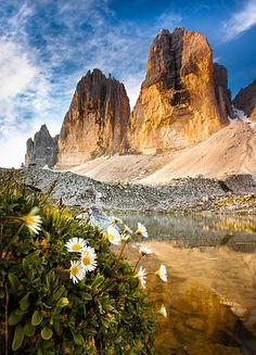 North Faces, Drei Zinnen, Südtirol, Dolomiten, Italien North Face, Half Dome, Monument Valley, Mountains, Nature, Travel, Landscape Pictures, Alps, Naturaleza