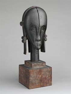 Sculpture from a Reliquary Ensemble: Head (The Great Bieri), Gabon, (19th-early 20th century)