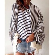 wrapped in stripes