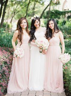 Fairytale pastel wedding: http://www.stylemepretty.com/2015/03/16/elegant-pastel-wedding-in-mansfield-texas/   Photography: Heather Hawkins - http://www.heatherhawkinsphoto.com