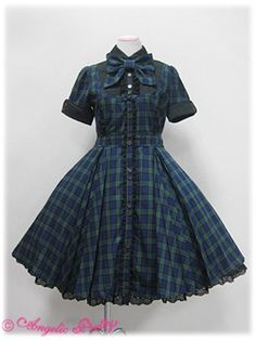 Angelic Pretty  Schoolmate OP... i wish we lived back then. So we culd wear cute clothes like this, not stupid short shorts and all that. comment or like if u agree!