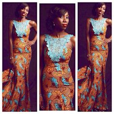 Must Have Ankara Maxi Dress by Africandressshop on Etsy