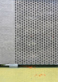 Image 8 of 15 from gallery of Kangka Zhouzhuang Tourist Resort Aquatic Club / UDG China. Photograph by Yao Li Brick Architecture, Religious Architecture, Architecture Details, Brick Design, Facade Design, Brick Face, Brick Detail, Stone Facade, Property Design