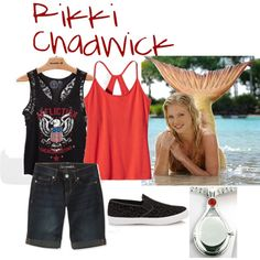 Rikki Chadwick - Just Add Water Casual Outfits, Cute Outfits, Casual Clothes, Clothes For Women, Cute Relationship Goals, Cute Relationships, Rikki H2o, H2o Mermaids, Mermaid Outfit