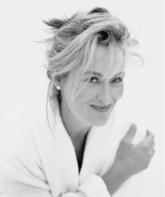 Meryl Streep, talented, funny, beautiful, fablous acting, great contributions to film.