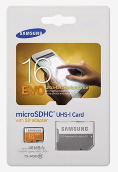Samsung microsd 16gb memory card class 10 it's blazing fast!