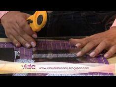 Vida Melhor - Artesanato: Colcha cracker (Ana Maria) - YouTube
