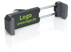 fixxo Universal KFZ-Handyhalter (schräg) in den Standard-Farben als Werbeartikel: ausgefahren