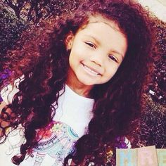 Most beautiful girl ever O.O ♥ #Mixed #babies ..and best hair ever! :D ;)