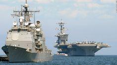 North Korea threatens to sink US aircraft carrier  http://www.cnn.com/2017/04/23/politics/uss-carl-vinson-japan-us-drills/index.html?utm_campaign=crowdfire&utm_content=crowdfire&utm_medium=social&utm_source=pinterest