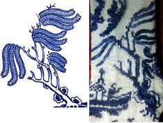 Ravelry: Willow Ware pattern by Lisa Grossman