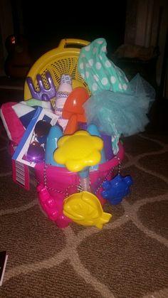 Summer girl beach birthday gift