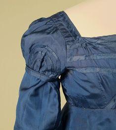Dress Date: ca. 1818 Culture: American Medium: silk Accession Number: 2016.181