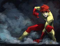Kid Flash/#1408201 - Zerochan DC Comics, Young Justice, Wally West, Kid Flash, M-lin, Superhero