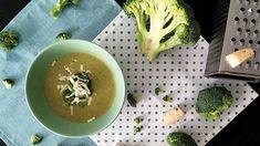 Krémová polévka z brokolice s nivou