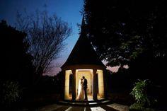 Wedding Portrat at Night | Graylyn Estate, Elegant Fall Wedding | Logan Jarrard Photography | Leigh Pearce Weddings, Winston Salem North Carolina Wedding Planner