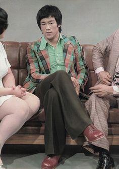 Bruce on HongKong tv