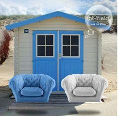 La gamme de fauteuils gonflables Blofield est disponible chez HighTechDiffusion.com  (nous contacter par mail)