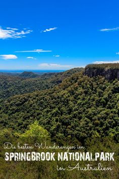 Springbrook Nationalpark in Australien Largest Countries, Countries Of The World, Investment Property, Gold Coast, Cool Places To Visit, Natural Beauty, Things To Do, Trail, Hiking