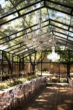 A gorgeous glass marquee wedding in the woods jj hanli 30 best ideas for outdoor wedding photos Wedding Goals, Wedding Themes, Wedding Events, Destination Wedding, Wedding Decorations, Dream Wedding, Wedding Day, Wedding Flowers, Wedding House
