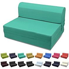 details about fold out waterproof double guest z bed chair folding