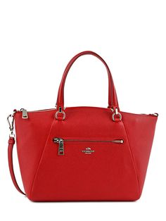 Sac Bandouliere Porte Travers Casual Cuir Coach Rouge casual 34340