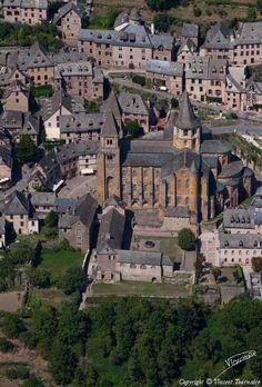 ✈️ Photo aérienne de Conques - Aveyron (12)