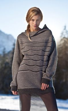 Mimoods Knits_ commercial KM_ large scale variants tuck stitch pattern
