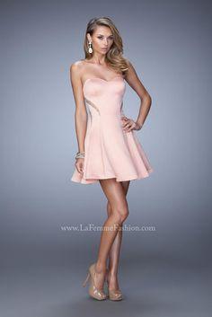 La Femme Short Homecoming Dress 21982