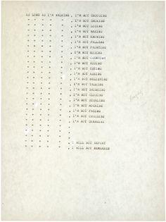 Francis Alÿs, As Long As I'm Walking, 1992